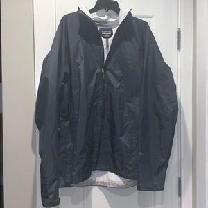 """Dark Gray Patagonia Hooded """"H2No"""" Rain🌧 Jacket🧥"""